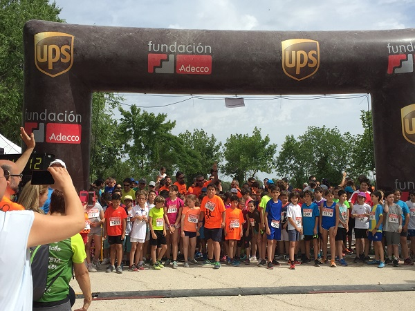 UPS patrocina la IX Carrera por la Inclusión de Grupo AMÁS. Foto: Grupo AMÁS.