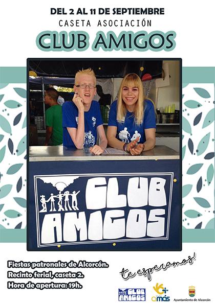 Cartel caseta Club Amigos v3 baja