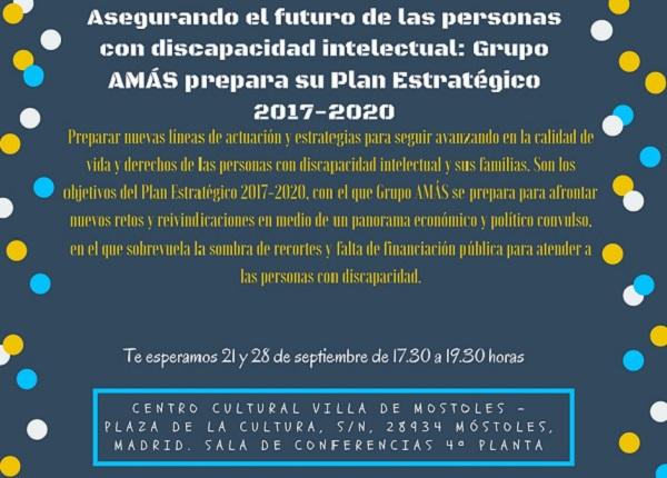 Arranca el diseño del Plan Estratégico 2017-2020 de Grupo AMÁS.