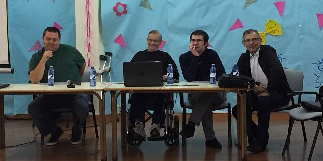 Intervención del Comité de Ciudadanía de Grupo AMÁS ante la Asamblea de Afandem. Foto: Grupo AMÁS.