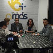 Infórmate Claro entrevista a Santiago Llorente, alcalde de Leganés y a Virginia Jiménez, Concejala de Educación. Foto: Grupo AMÁS.