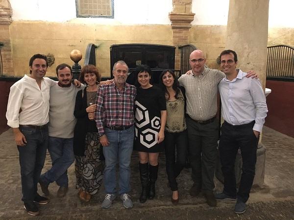 Profesionales de Grupo AMÁS en el Congreso de Córdoba junto con miembros de Plena Inclusión. Foto: Grupo AMÁS.
