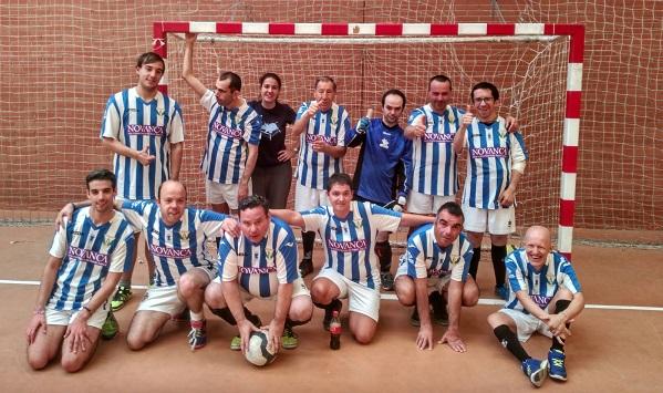 Deportistas de Grupo AMÁS. Foto: Grupo AMÁS.