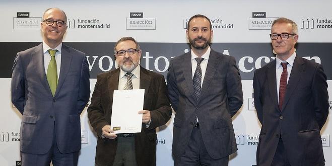 Acto de entrega de Convenios Acción Social de Fundación Montemadrid y Bankia. Foto: Miguel Berrocal.