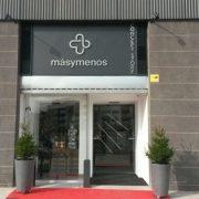 Exterior Concept Store Másymenos en Leganés. Foto: Grupo AMÁS.