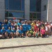 Recibimiento en el Ayuntamiento de Leganés