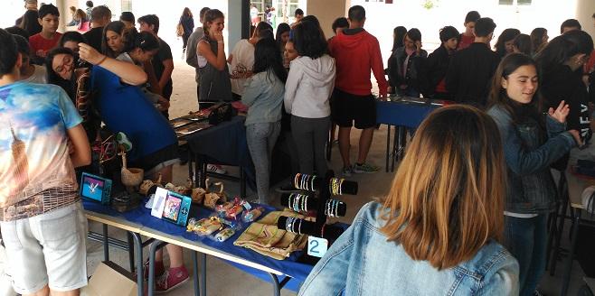 Objetos elaborados en el Centro Ocupacional Coimbra de Grupo AMÁS. Foto: Grupo AMÁS.