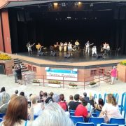 """Concierto """"Día de la Música para Todos"""" en el anfiteatro Egaleo de Leganés. Foto: Grupo AMÁS."""
