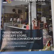 """Portada de la revista """"masymenos"""". Foto : Grupo AMÁS."""