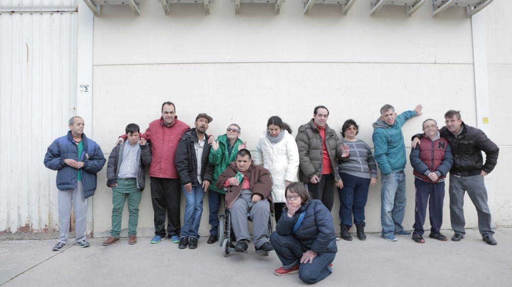 """""""Probando Big Band"""". Foto: Grupo AMÁS."""