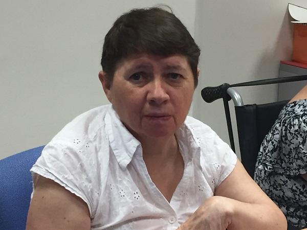 Valentina Ordóñez, usuaria de Grupo AMÁS. Foto: Grupo AMÁS.