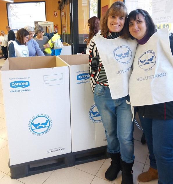 Voluntarias Banco de Alimentos. Foto: Grupo AMÁS.