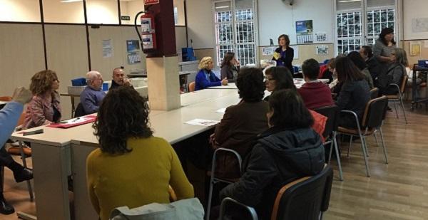 Reunión de familias de Grupo AMÁS. Foto: Grupo AMÁS.
