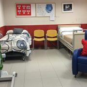 """Imagen del """"Aula Confort"""" de la Residencia Parque Coimbra. Foto: Grupo AMÁS."""