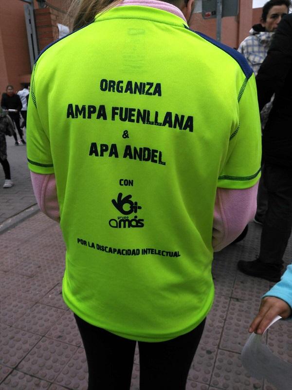 Corredor de la III Carrera Solidaria. Foto: Grupo AMÁS.