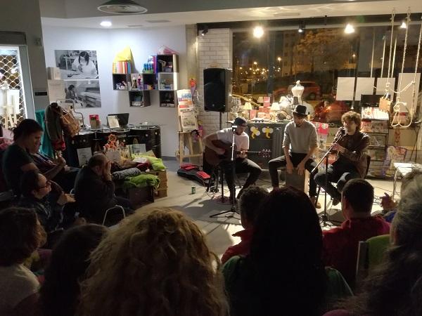 Actuación de Sixcon. Foto: Grupo AMÁS.