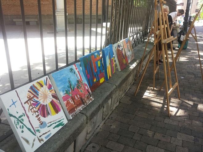 Cuadros Inclusivos en Leganés. Foto: Juan Manuel Contreras y Rocío Ortiz.