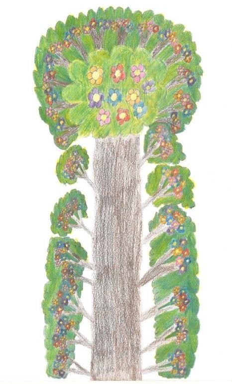 """""""Árbol"""" obra finalista de Victoria Rodrigo. Foto: Grupo AMÁS."""