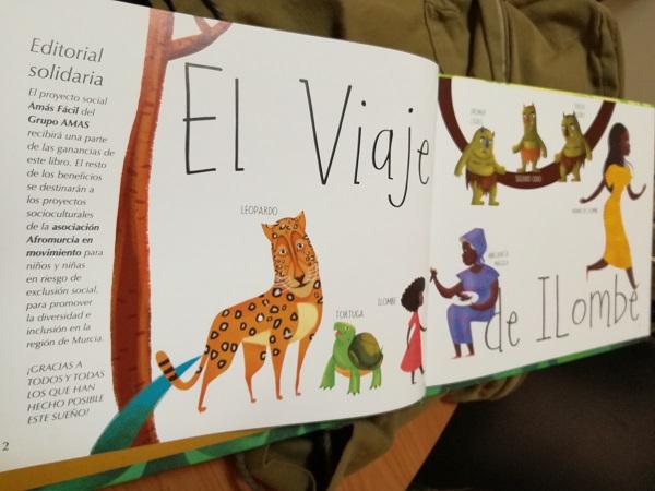 """""""El viaje de Ilombé"""". Foto: Grupo AMÁS."""