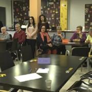 Reunión del Servicio de Atención a Familias de Grupo AMÁS. Foto: Grupo AMÁS.