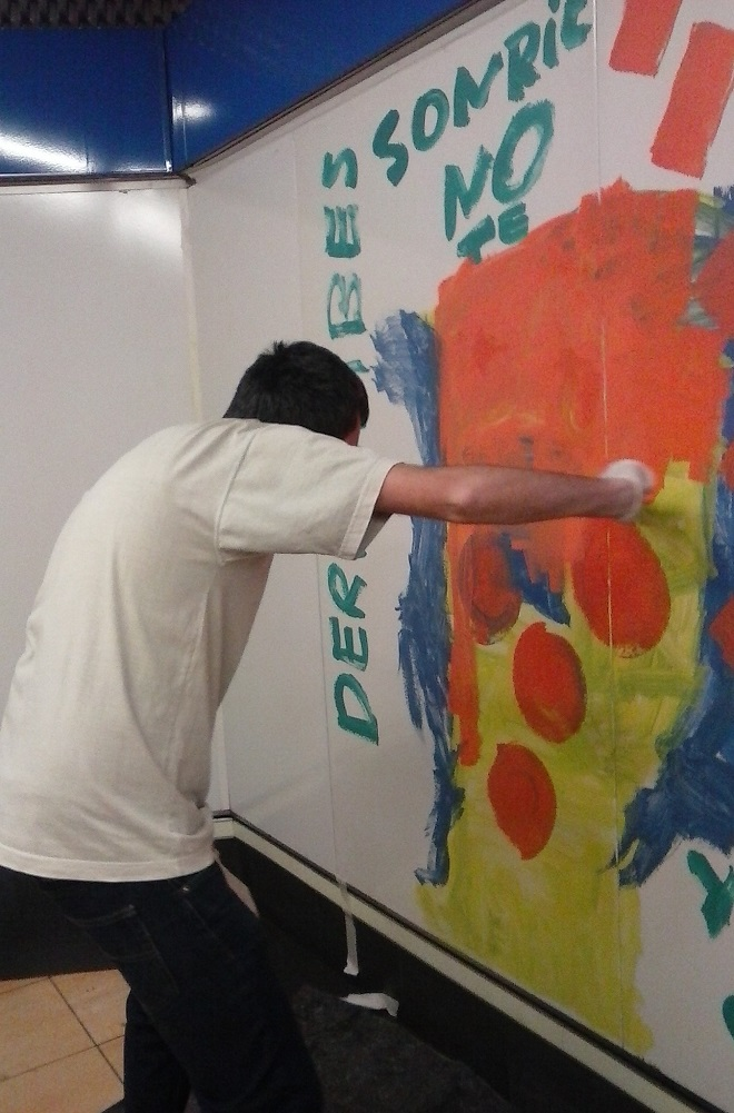 El Muro de la Inclusión. Foto: Grupo AMÁS.