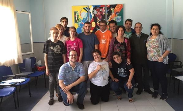 Alumnos de la segunda convocatoria de Info Fácil. Foto: Grupo AMÁS