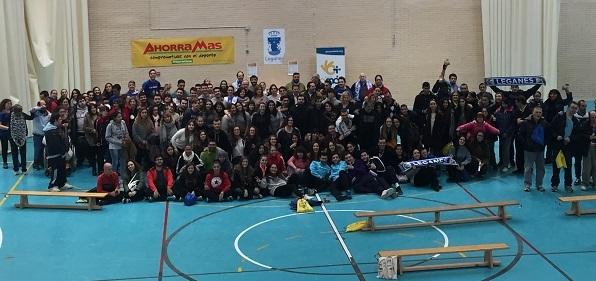 Participantes en la Gymkana Deportiva. Foto: Grupo AMÁS.