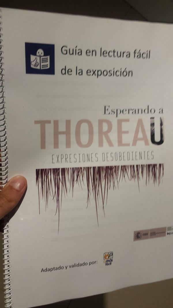 Guía en Lectura Fácil de la exposición realizada por Grupo AMÁS. Foto: Grupo AMÁS.