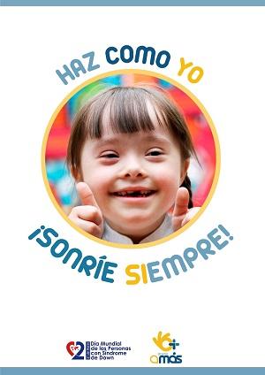 21 de marzo, Día Mundial del síndrome de Down. Foto: Grupo AMÁS.