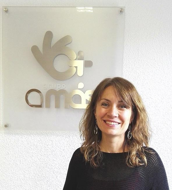 Mar Marín, Directora del Área de Infancia de Grupo AMÁS. Foto: Grupo AMÁS.
