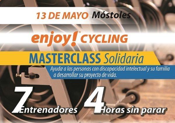 Masterclass Solidaria con Enjoy! Wellness y Grupo AMÁS.