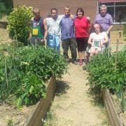 Los microhuertos de la inclusión en Leganés. Foto: Grupo AMÁS.