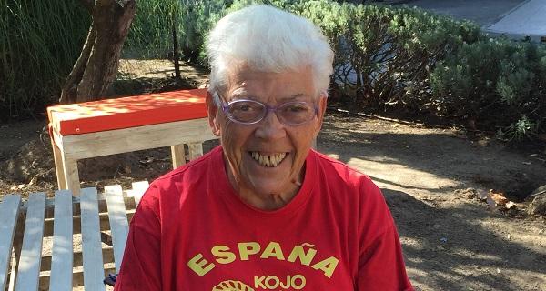 Concha Moreno, usuaria de la Residencia Los Pinos de Grupo AMÁS. Foto: Grupo AMÁS.
