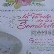 """El 5 de noviembre se celebra """"La tarde de los sombreros"""", moda e inclusión sobre la pasarela."""