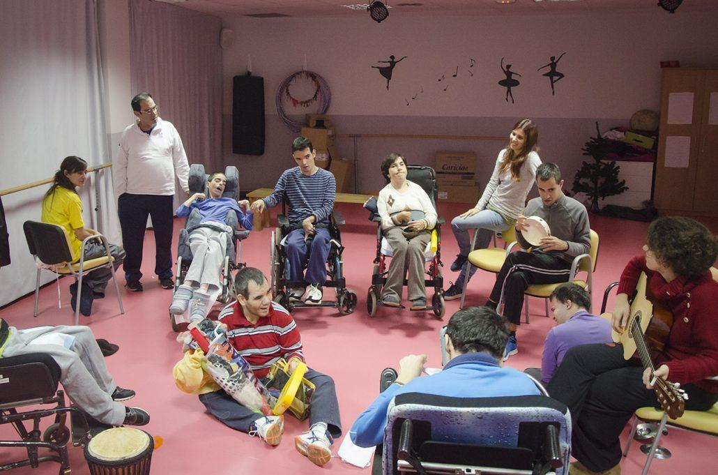 "Banda musical ""Sonoreadores"". Foto: Grupo AMÁS."