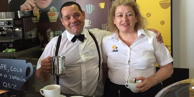 AMÁS Café en el Centro de Inclusión y Oportunidades Padre Zurita en Alcorcón. Foto: Grupo AMÁS.