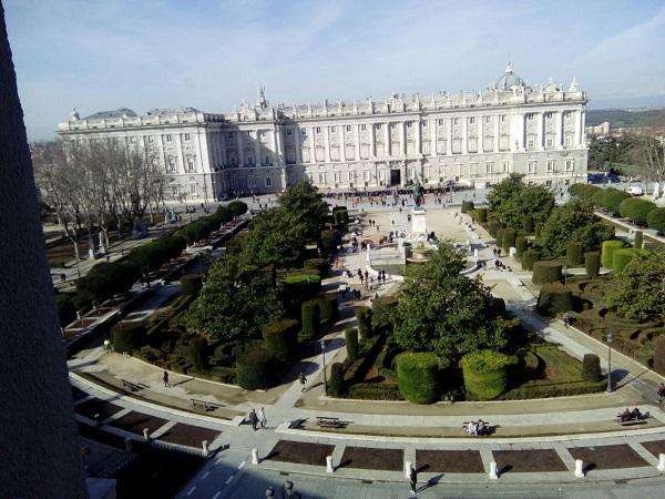 Vista del Palacio Real. Foto: Grupo AMÁS.