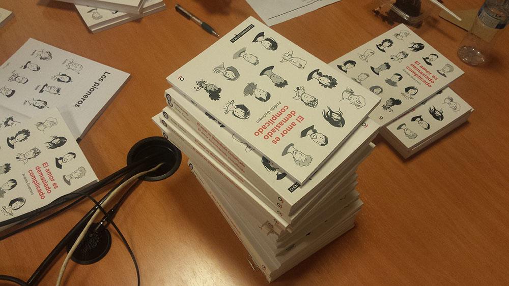 """Novela """"El amor es demasiado complicado"""" adaptada a lectura fácil por AMÁS Fácil. Foto: Grupo AMÁS"""