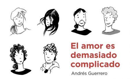 """Portada del libro """"El amor es demasiado complicado"""". Foto: Grupo AMÁS."""