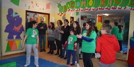 Actividades extraescolares en el CPEE Miguel de Unamuno de Móstoles. Foto: Grupo AMÁS.