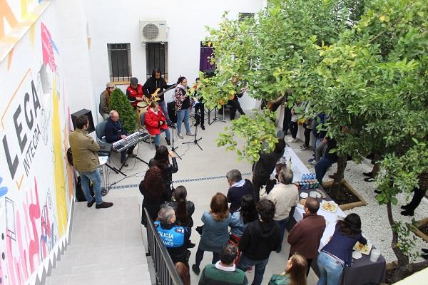 Actuación de AMÁS Miusic en la inauguración de Lega Integra. Foto: Grupo AMÁS.