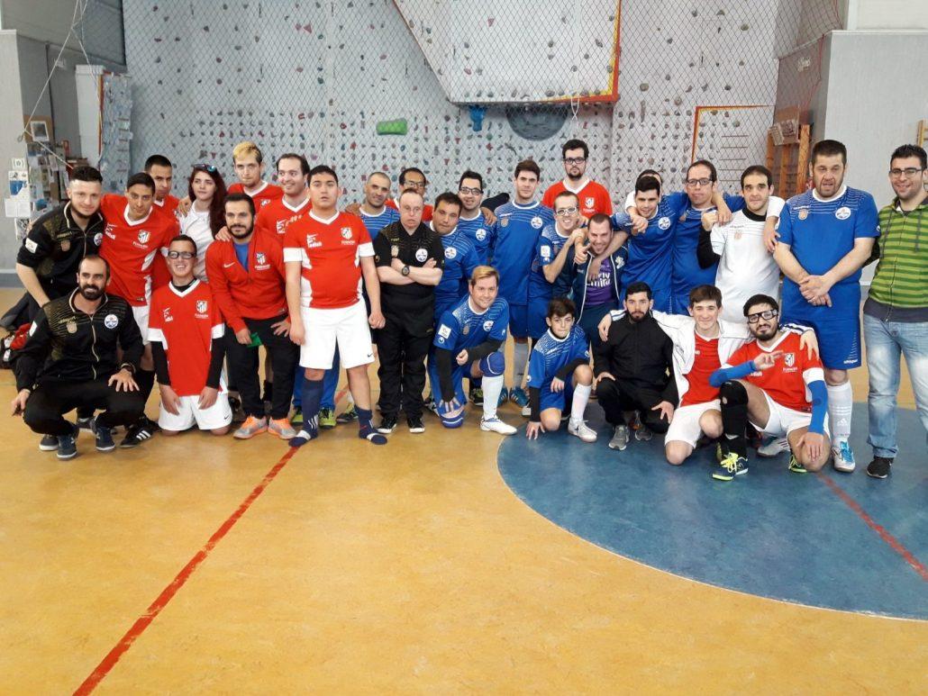 F.S. Ciudad de Móstoles AMÁS A. Foto: Grupo AMÁS.