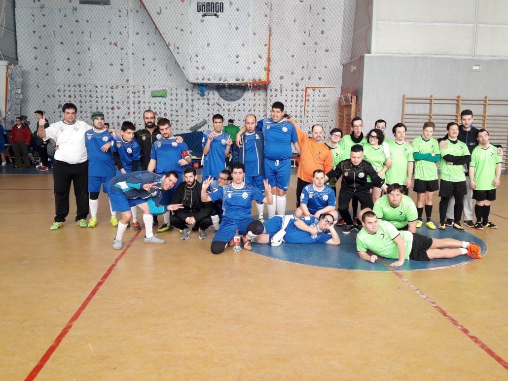 F.S. Ciudad de Móstoles AMÁS B. Foto: Grupo AMÁS.