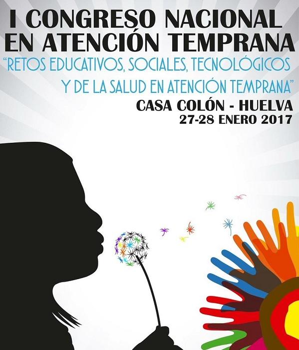 Primer Congreso de Atención Temprana en Huelva, los días 27 y 28 de enero.