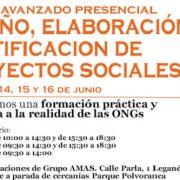 Curso de elaboración de Proyectos Sociales.