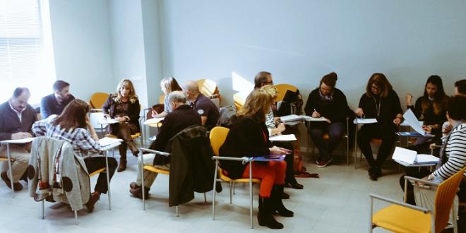 AMÁS Fácil imparte cursos de lectura fácil a trabajadores del Ayuntamiento de Leganés. Foto: Grupo AMÁS.