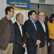 Carlos Pérez, Presidente de Grupo AMÁS junto a David Pérez, alcalde de Alcorcón. Foto: Grupo AMÁS.