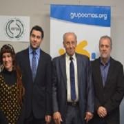Firma del convenio con la Asociación Nacional de Psicólogos en Acción. Foto: Grupo AMÁS.