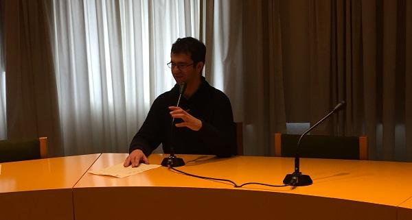 Daniel Fernández, candidato a Comité Ciudadanía. Foto: Grupo AMÁS.