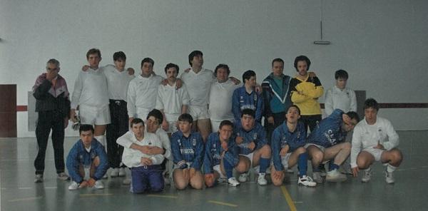 Equipo deportivo de Club Amigos en 1995. Foto: Grupo AMÁS.